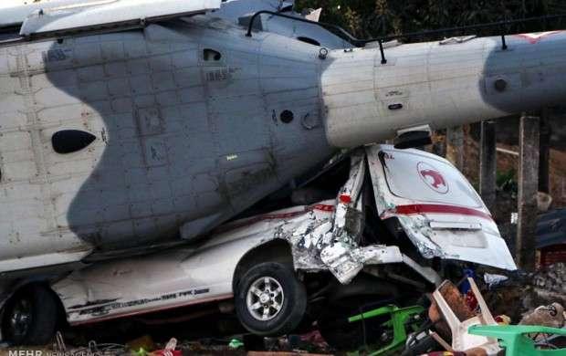 زلزله و سقوط هلیکوپتر در مکزیک