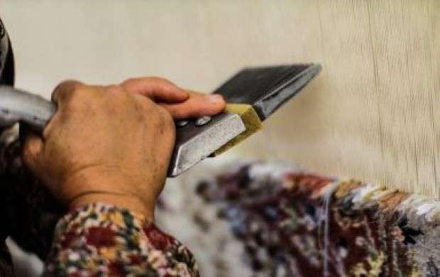 کاهش میزان صادرات فرش دستباف