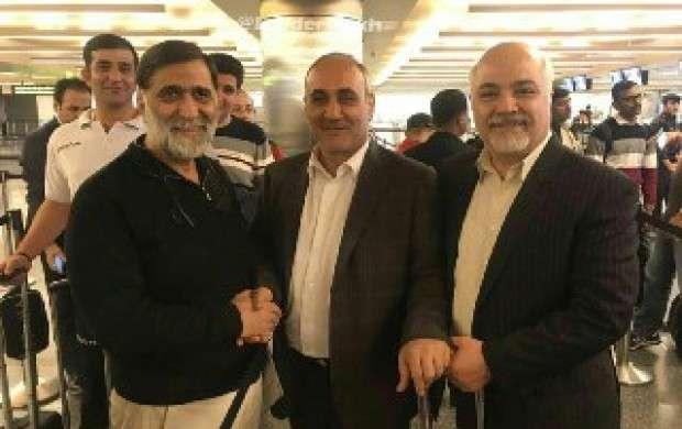 مدیران پرسپولیس و تراکتورسازی راهی قطر شدند
