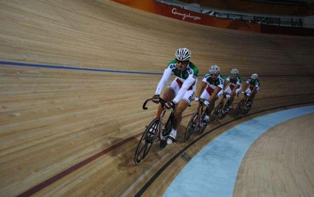 دوچرخه سواران ایرانی رکوردشکنی کردند