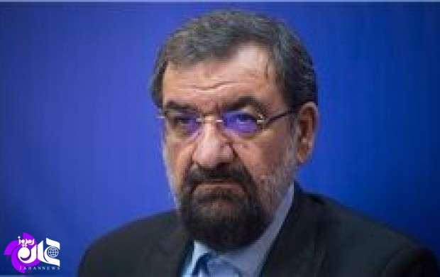 پیام تسلیت محسن رضایی درپی سقوط هواپیما
