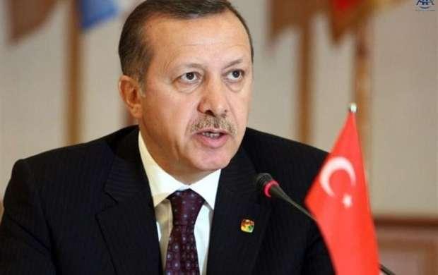 پیام تسلیت اردوغان در پی حادثه سقوط هواپیما