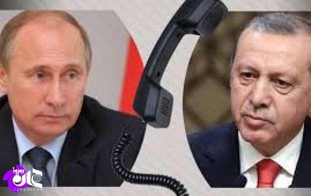 پوتین و اردوغان درباره تروریسم رایزنی کردند