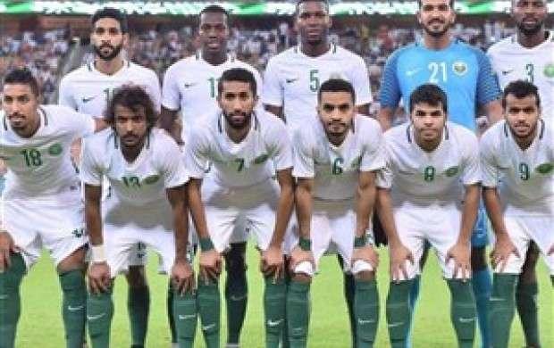 عربستان از جام جهانی ۲۰۱۸ اخراج می شود؟