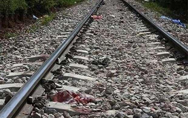خروج قطار از ریل در نیشابور