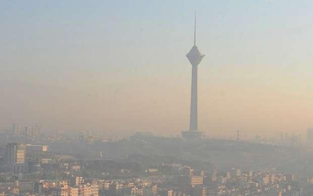 هوای پایتخت بهمن امسال آلوده تر از سال گذشته بود