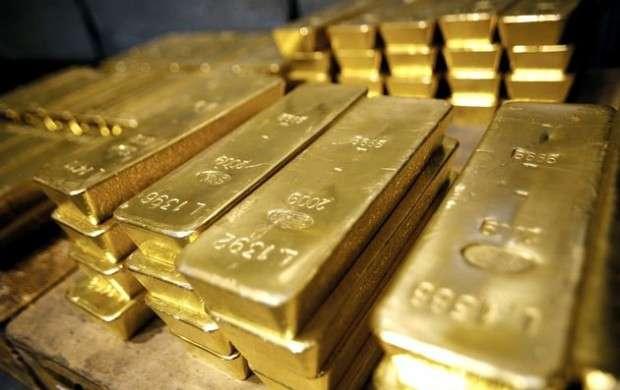 قیمت طلا به کمترین میزان یک هفته گذشته رسید
