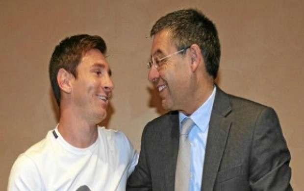مسی قرارداد تازه ای با بارسلونا امضا خواهد کرد