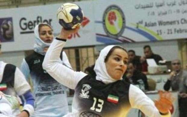 هندبال بانوان ایران قهرمان غرب آسیا شد
