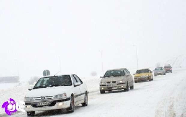بارش برف در 4 استان کشور