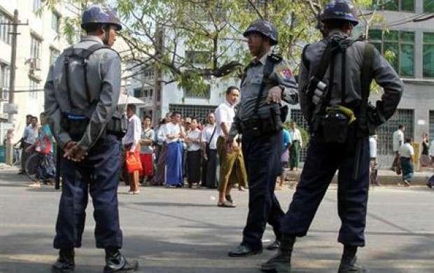انفجار ۳ بمب در ایالت ناآرام راخین در میانمار