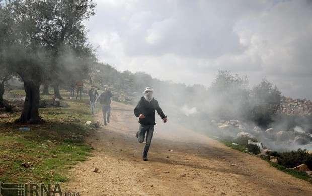درگیری نظامیان صهیونیستی با فلسطینیها
