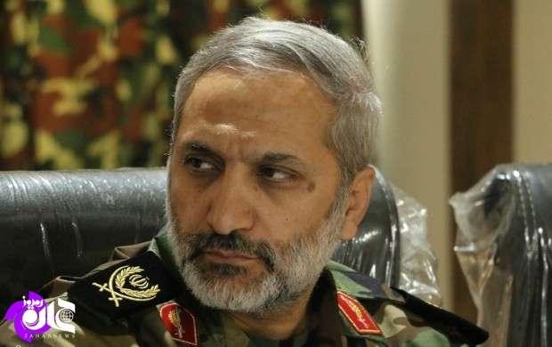 عیادت سردار یزدی ازمجروح حادثه تروریستی پاسداران