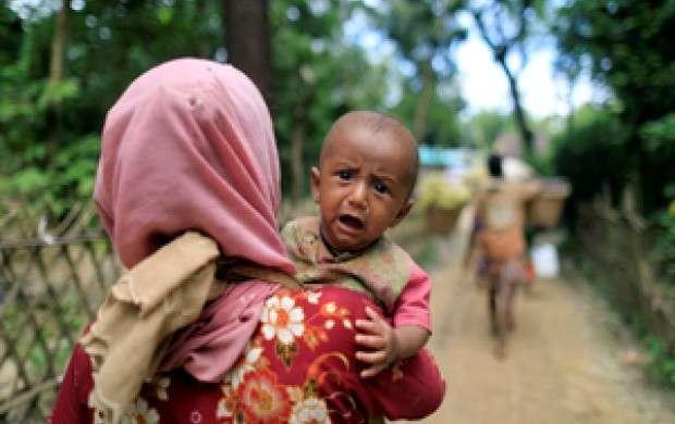 درخواست یونیسف برای کمک به کودکان روهینگیا