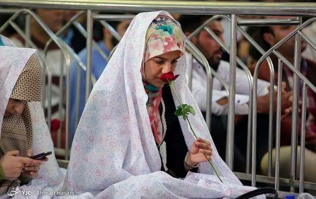 جشن ازدواج دانشجویی در حرم امام رضا (ع)