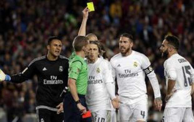 رکورددارهای کارت زرد در 5 لیگ برتر اروپایی