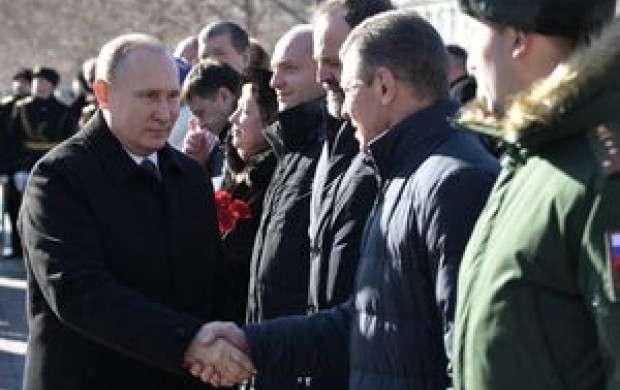 تمجید پوتین از نظامیان کشورش در سوریه
