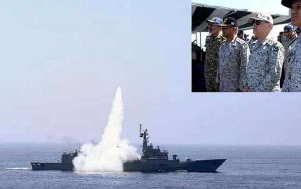 پاکستان موشک  کروز C-802 را با موفقیت آزمایش کرد