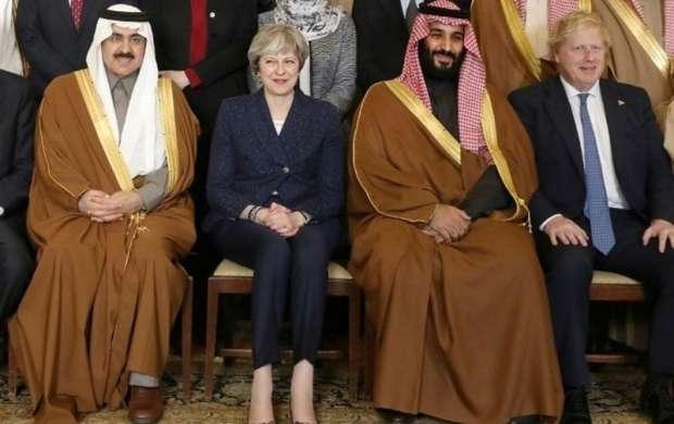 بیانیه مشترک ریاض و لندن در پایان سفر بن سلمان