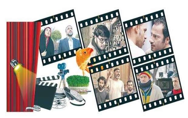 چینش اکران فیلم ها درتعطیلات عید ۹۵ و۹۶ و۹۷
