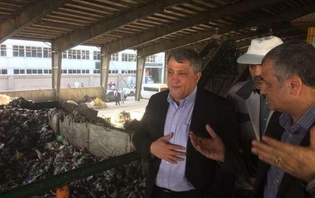 تهرانی ها روزانه ۸ هزار تن زباله تولید می کنند