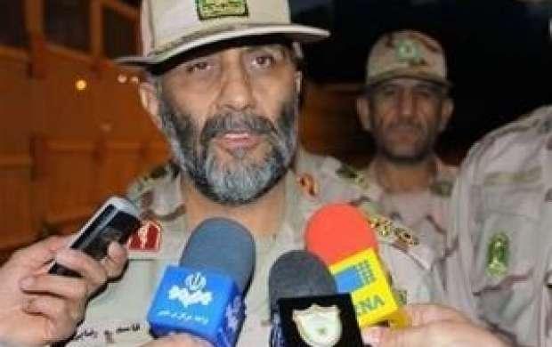 فرمانده مرزبانی: مرزبان ربوده شده زنده است