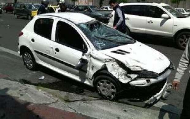 سهم خودروها در حوادث جاده ای چقدر است؟
