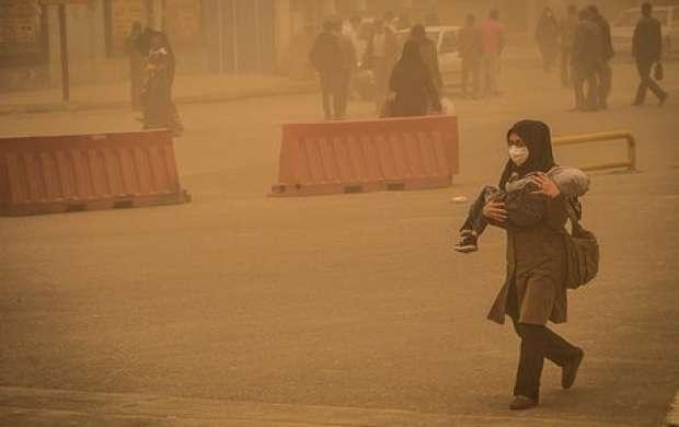 خاک عراقی عصر امروز به خوزستان می رسد