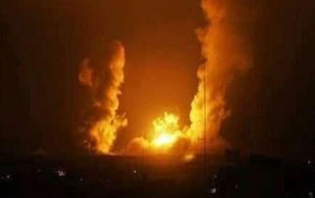 جنگنده های اسرائیلی نوار غزه را بمباران کردند