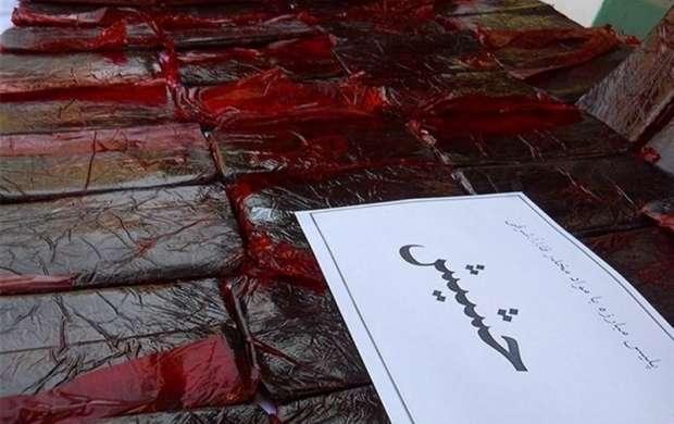 کشف حدود ۴۰۰ کیلوگرم حشیش در تهران