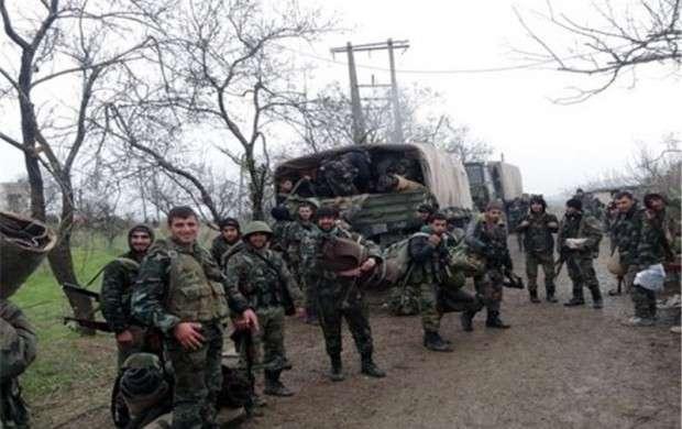 مهلت ارتش سوریه به تروریست ها برای خروج از حرستا