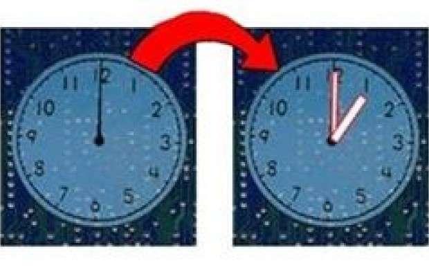ساعت امشب یک ساعت به جلو کشیده می شود