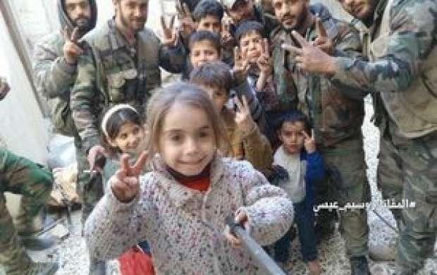 تسلط کامل ارتش سوریه بر شهر «عین ترما»