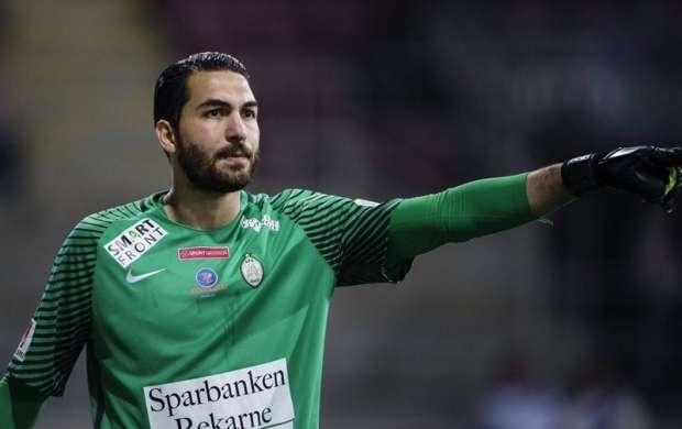 قرارداد ۳ ماهه حقیقی با تیم ساندسوال سوئد