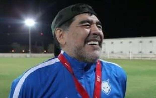 مارادونا در جام جهانی طرفدار کدام تیم است؟