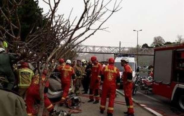 وقوع ۶ تصادف در محورهای استان سمنان