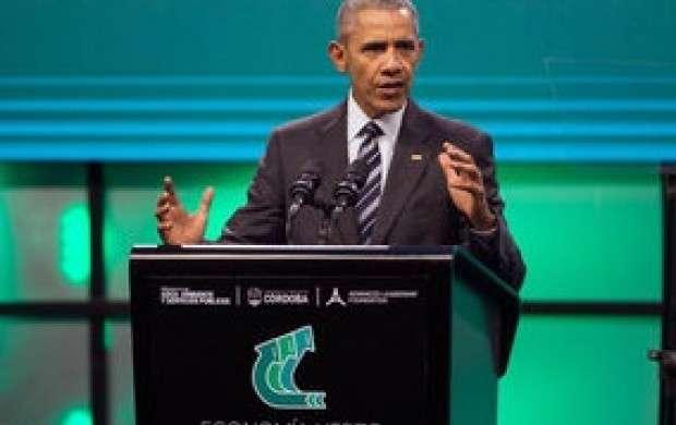 نظر اوباما درباره موفقیت آمیزبودن مذاکراه با ایران