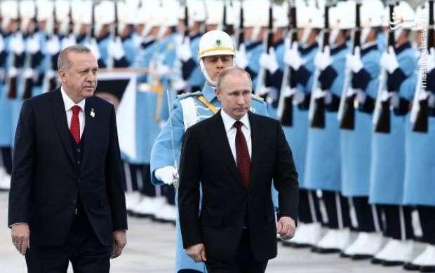 استقبال اردوغان از پوتین