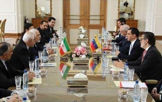 دیدار وزیر خارجه ونزوئلا با ظریف