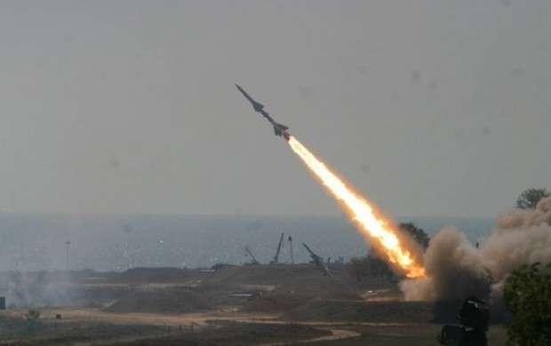 موشک باران مقر پشتیبانی نظامیان سعودی