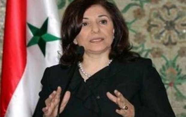 مشاور بشار اسد: ما از جنگ نمی ترسیم