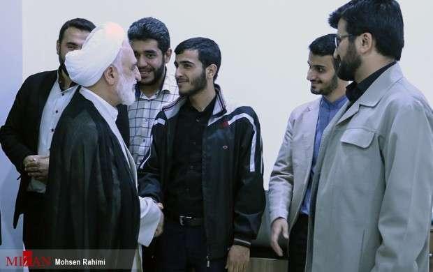 دیدار اژه ای با دانشجویان مشهدی