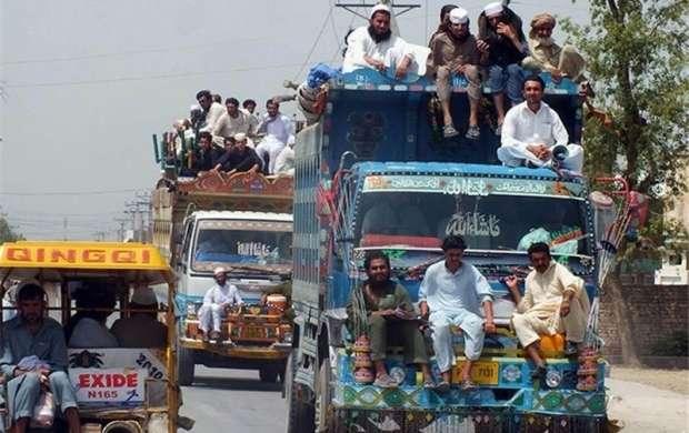 سومین دور خروج پناهجویان پاکستانی از افغانستان