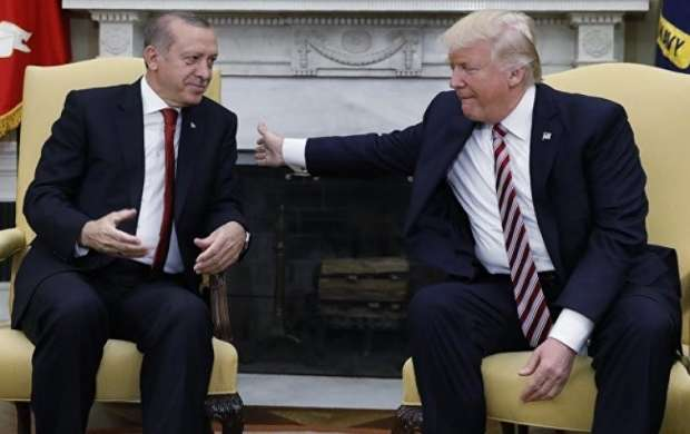 تماس تلفنی اردوغان و ترامپ درباره حمله به سوریه