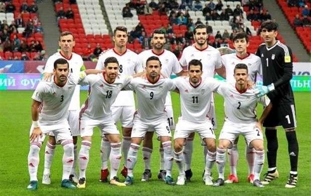 سقوط ۳ پله ای فوتبال ایران رده بندی فیفا
