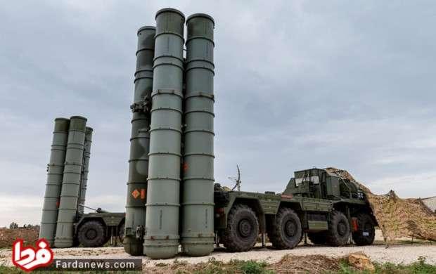سامانه دفاع موشکی اس-۴۰۰  روسیه
