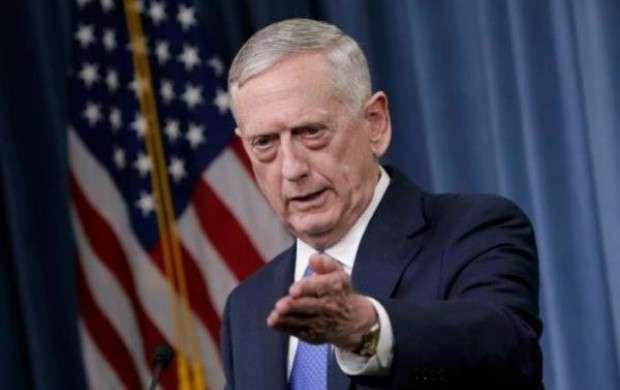 اعتراف وزیر دفاع آمریکا درباره سوریه