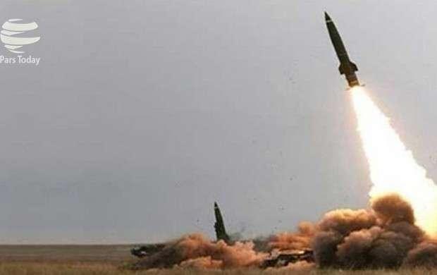 فرود موشک یمنی بر شهرک اقتصادی جیزان