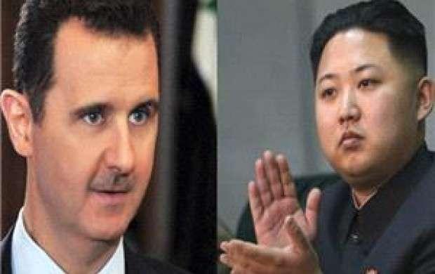 پیام تبریک رهبر کره شمالی به بشار اسد