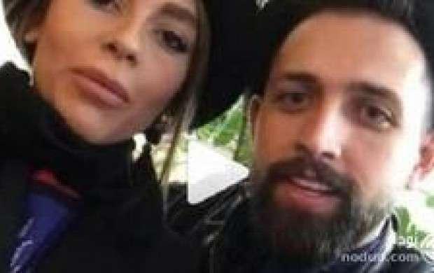 همسر بازیگر معروف در استادیوم دستگیر شد!